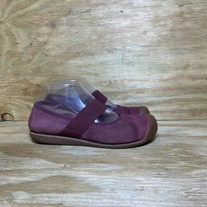 KEEN Mary Jane Slip On Shoes Womens Size 6.5 Purple Comfort Flats